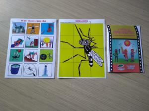 Ação de combate ao mosquito Aedes Aegypti.